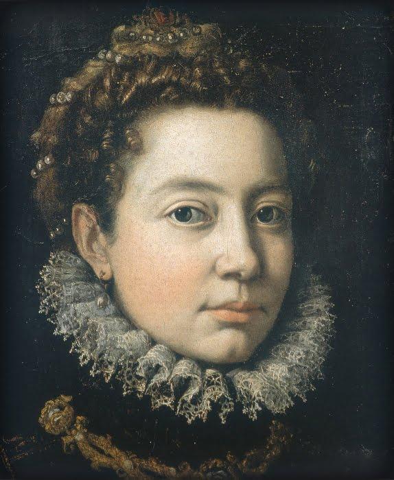 Sofonisba Anguissola. Portrait of a woman (Elizabeth French)