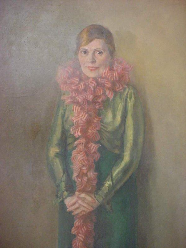 Nikolay Fedorovich Denisovsky. Portrait of L.Yu. Brik