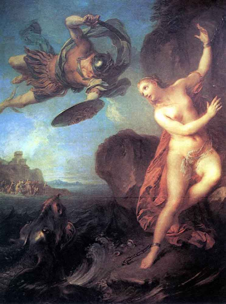 Франсуа Лемойн. Персей и Андромеда