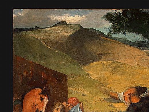 Эдгар Дега. Александр и Буцефал (фрагмент)
