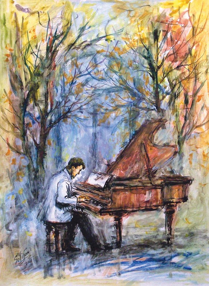 Salijon Mamatkulov. Autumn Blues