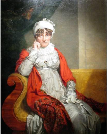 Джордж Доу. Портрет герцогини Августы Саксен-Кобург-Заальфельдсмкой