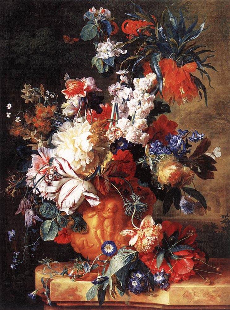 Ян ван Хейсум. Разноцветный букет