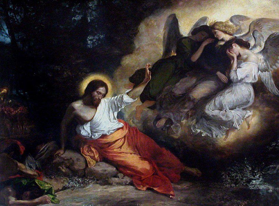 christ in the garden of gethsemane. Christ In The Garden Of Gethsemane
