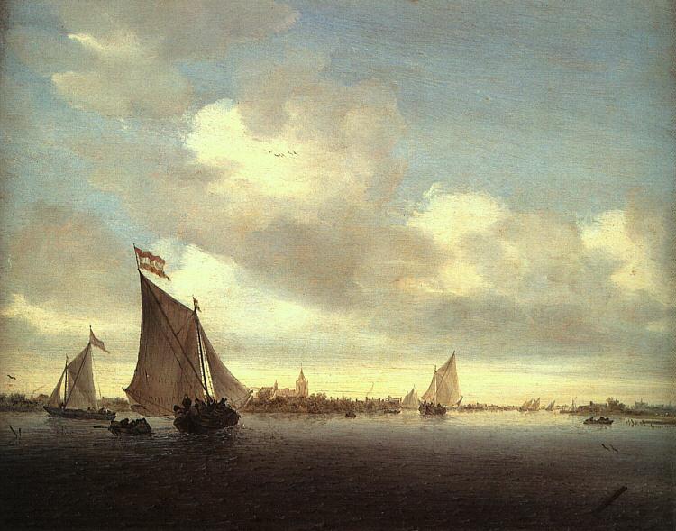 Якоб Исаакс ван Рейсдал. Море