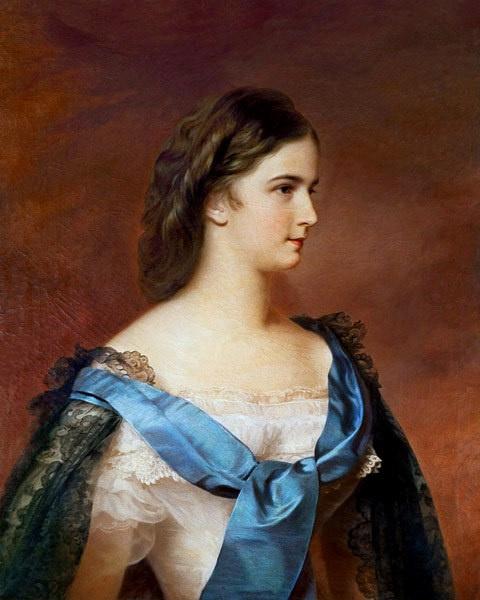 Franz Schrotzberg. Elizabeth of Bavaria