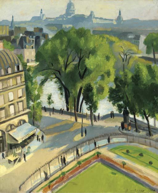 Робер Делоне. Вид набережной Лувра