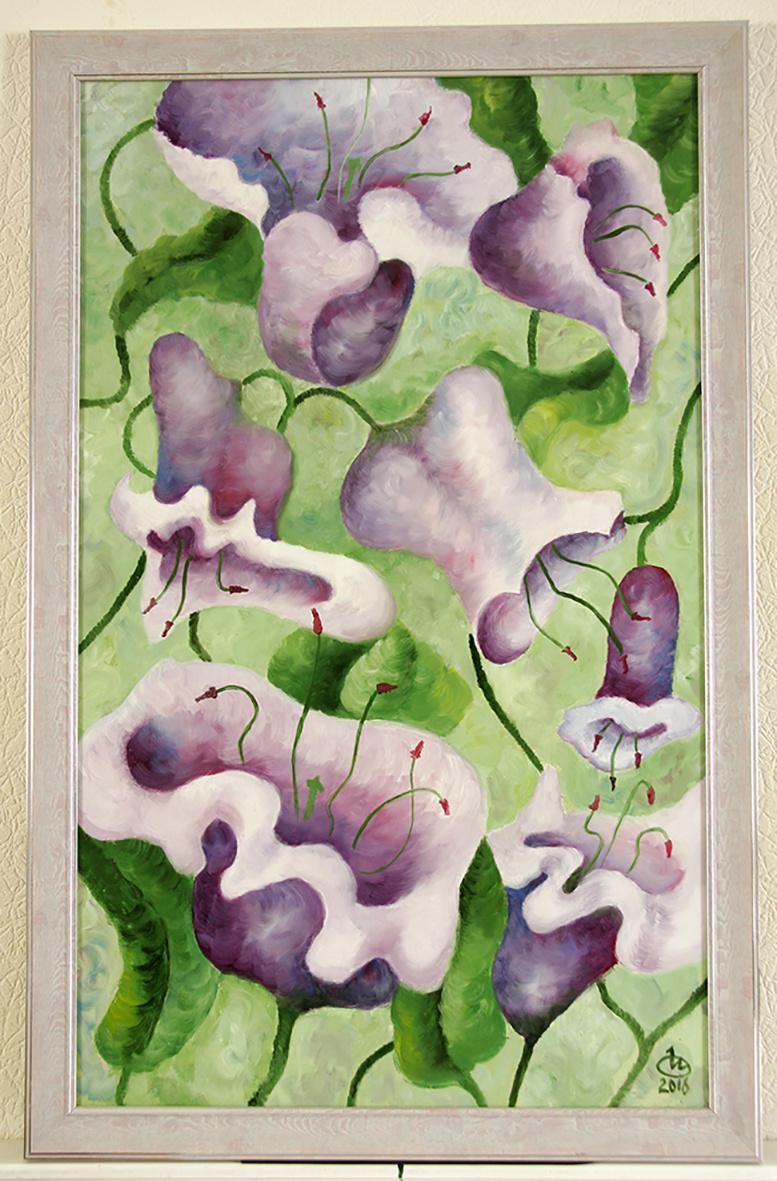 Inna Anatolyevna Ovcharuk. Bellflowers