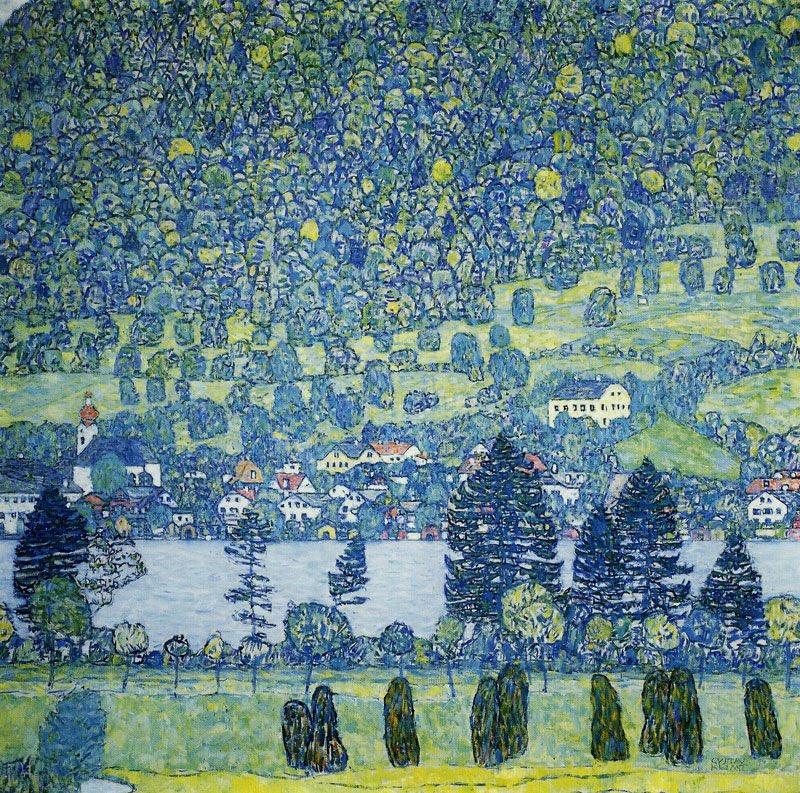 Густав Климт. Лесной склон в Унтерах-ам-Аттерзе