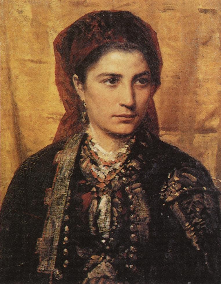 Vasily Dmitrievich Polenov. Montenegrin