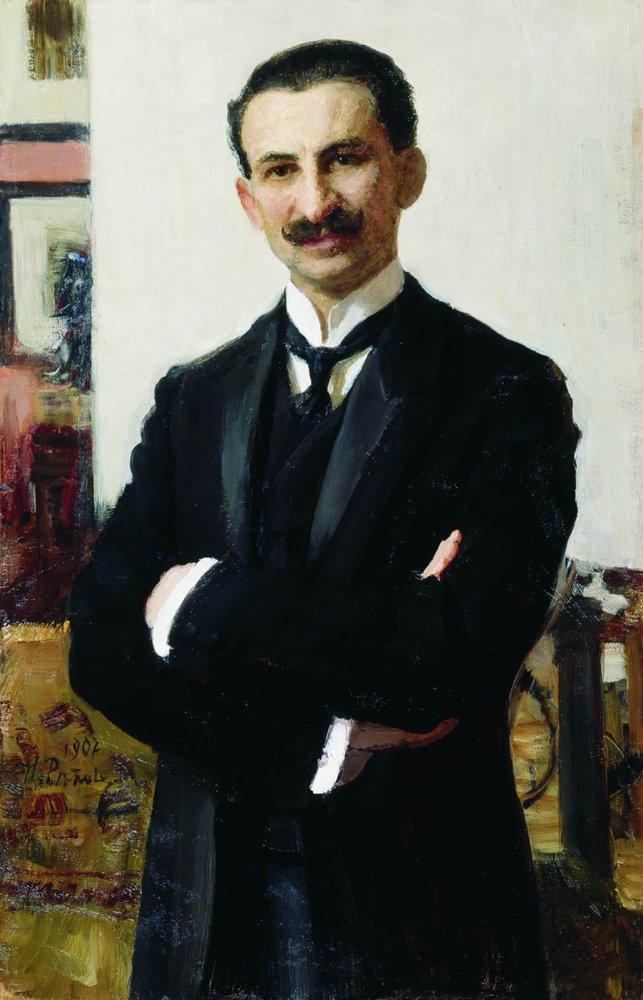 Илья Ефимович Репин. Портрет Г. И. Шоофса