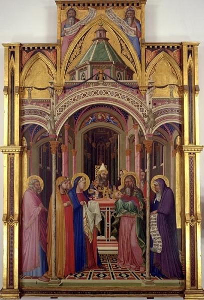 Амброджо Лоренцетти. Принесение во храм