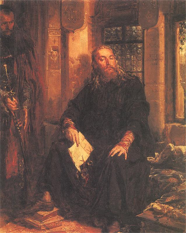 Ян Матейко. Владислав Белый в Дижоне