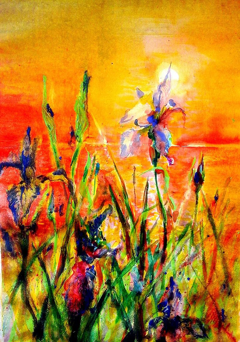 Milart OM. Irises