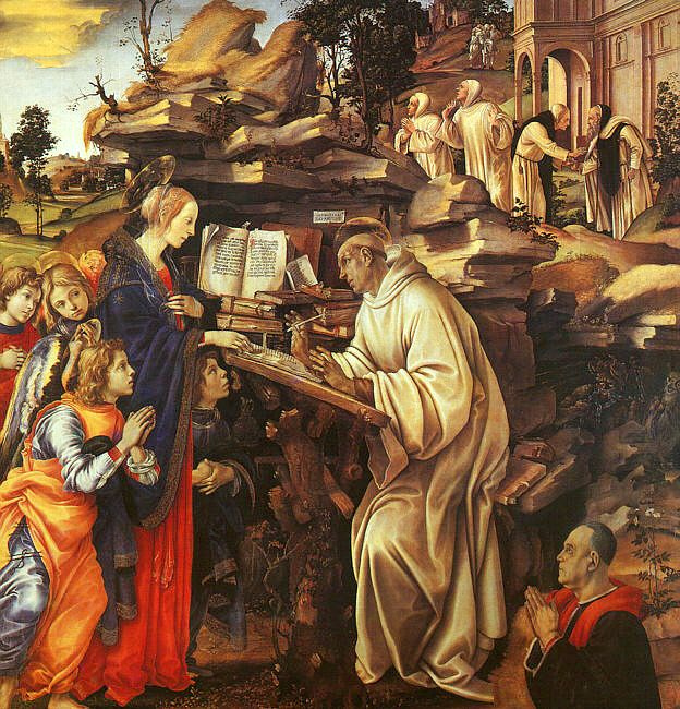 Filippino Lippi. Prayer