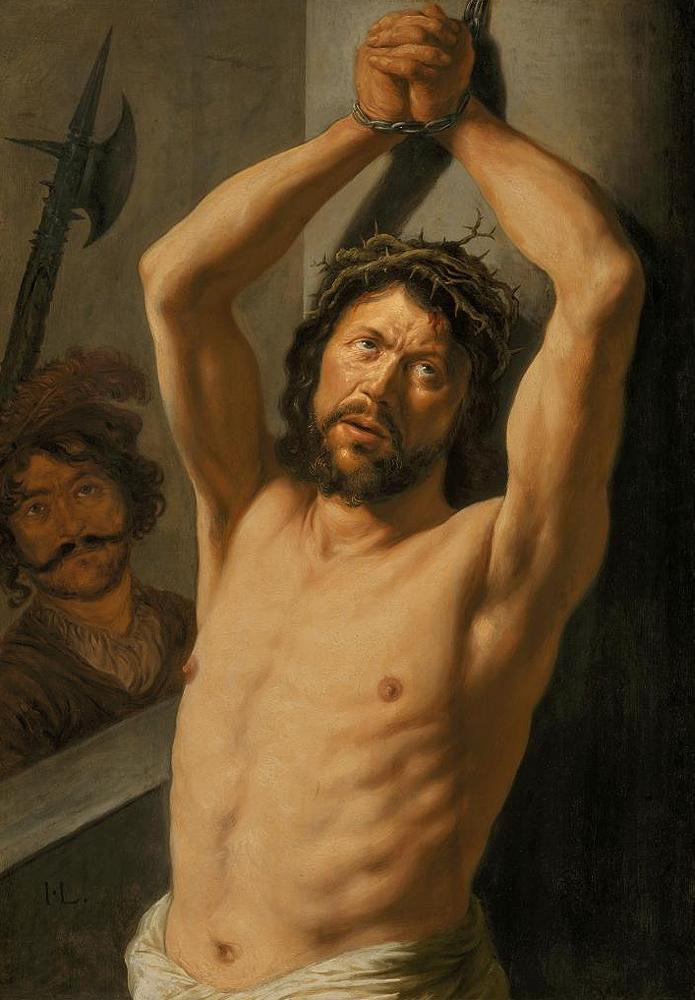 Ян Ливенс. Христос у столба