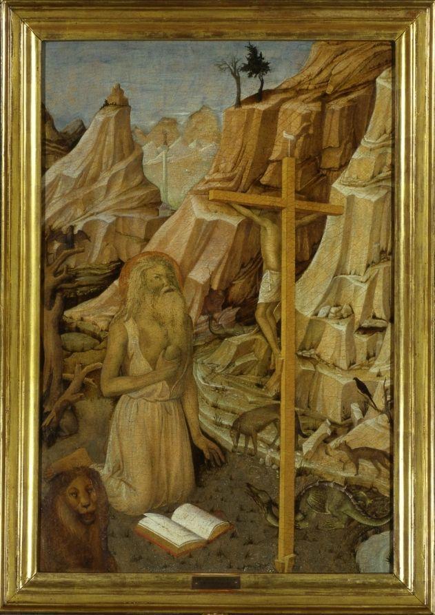 Якопо Беллини. Покаяние святого Иеронима