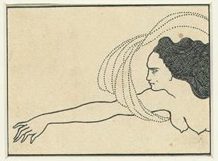Aubrey Beardsley. Hilda's thread