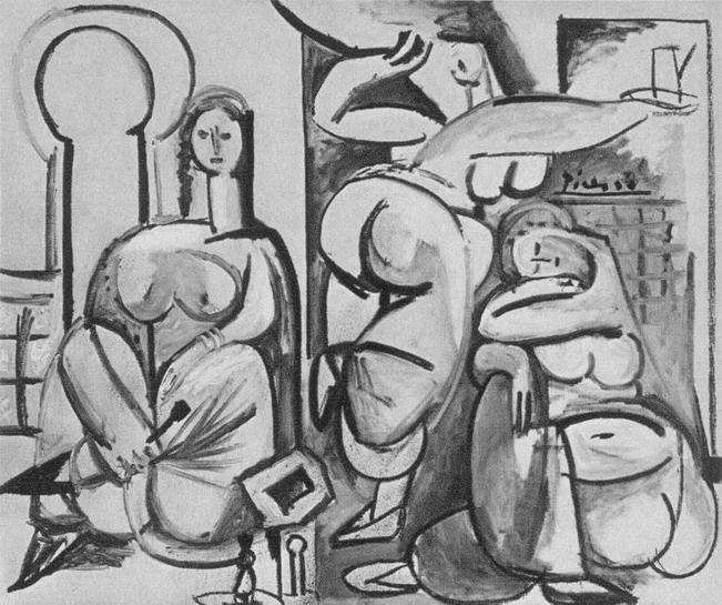 Пабло Пикассо. Алжирские женщины, версия В