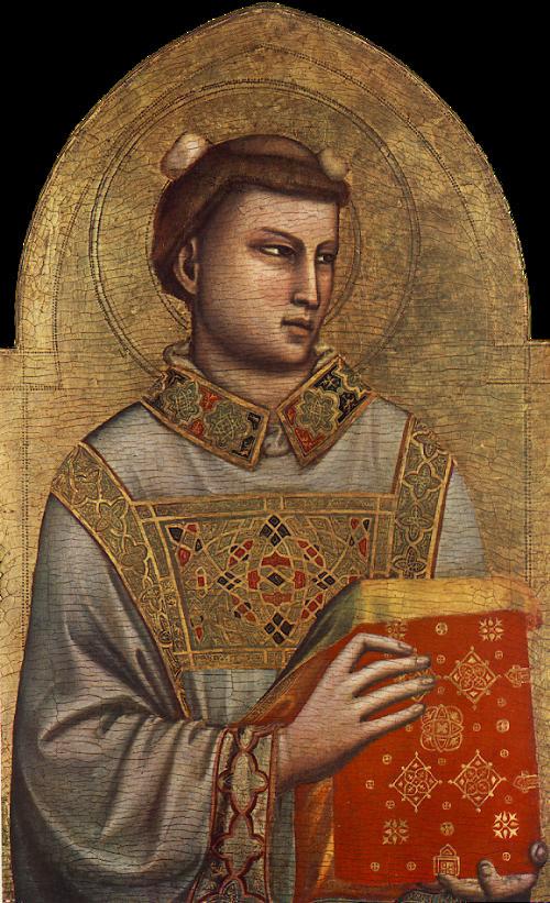 Джотто ди Бондоне. Святой Стефан