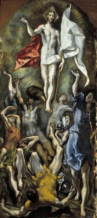 Эль Греко (Доменико Теотокопули). Воскресение