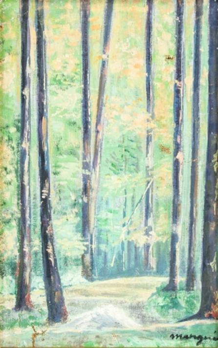 Анри Шарль Манген. Лесной пейзаж