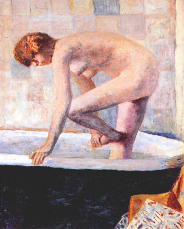 Пьер Боннар. Обнаженная женщина в ванной