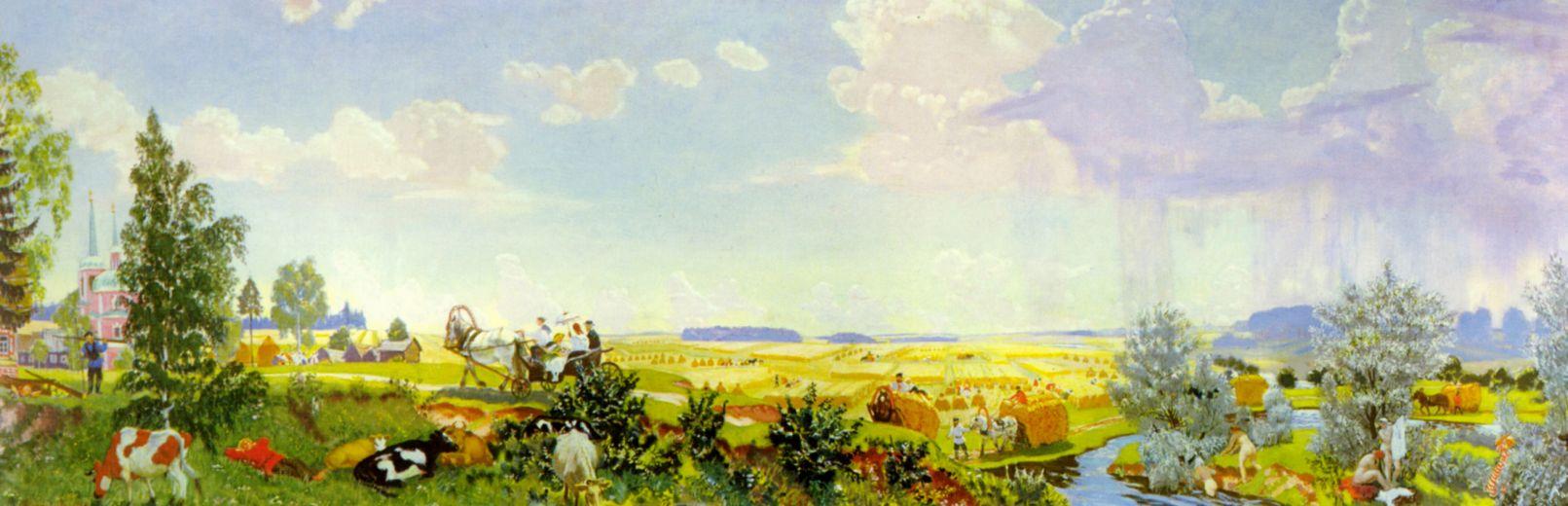 Борис Михайлович Кустодиев. Лето