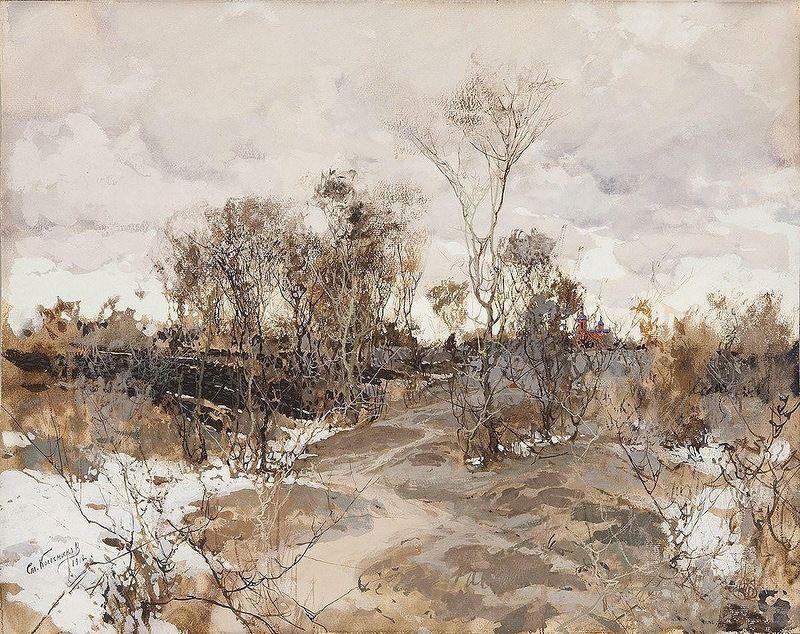 Stepan Fedorovich Kolesnikov (Odessa). Early spring