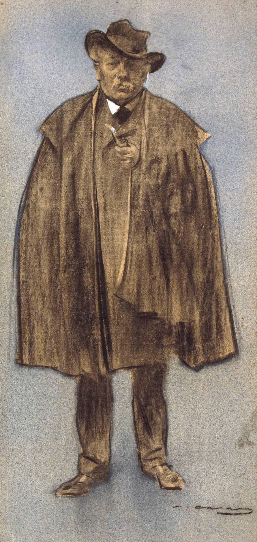 Ramon Casas i Carbó. Portrait of Albert de Sicilio Llanas