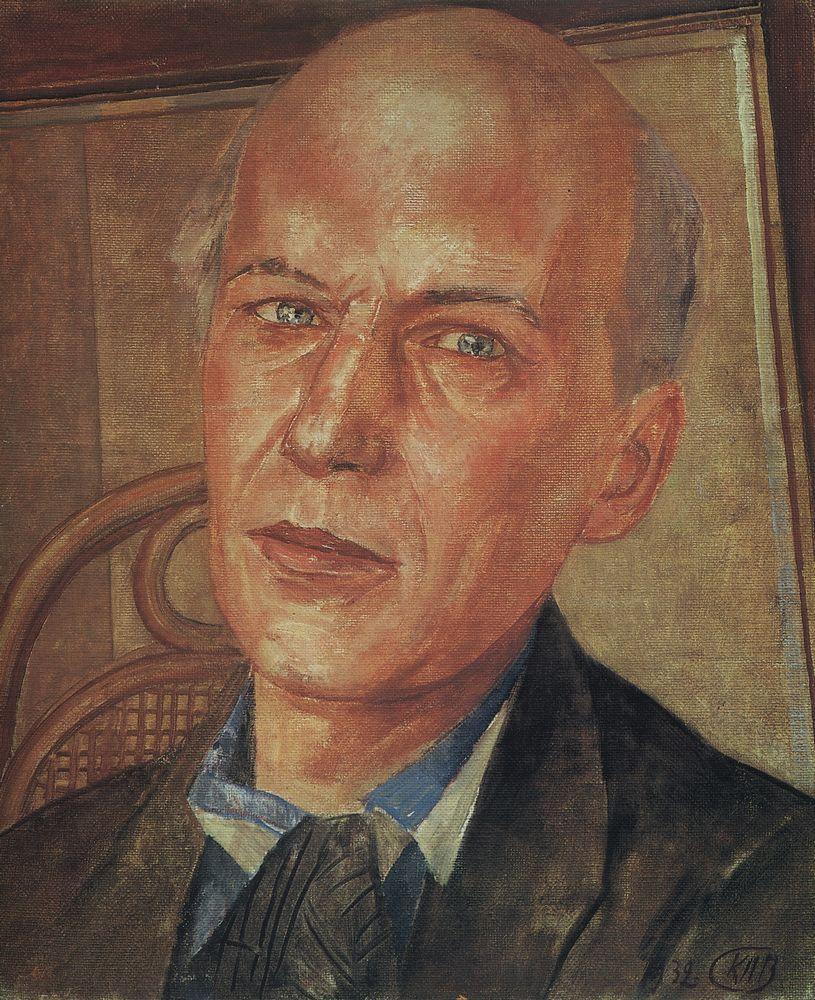 Кузьма Сергеевич Петров-Водкин. Портрет Андрея Белого