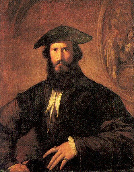 Francesco Parmigianino. Portrait of a man