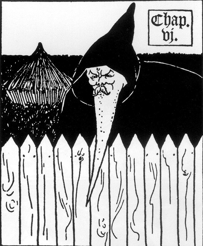Aubrey Beardsley. Death of Arthur