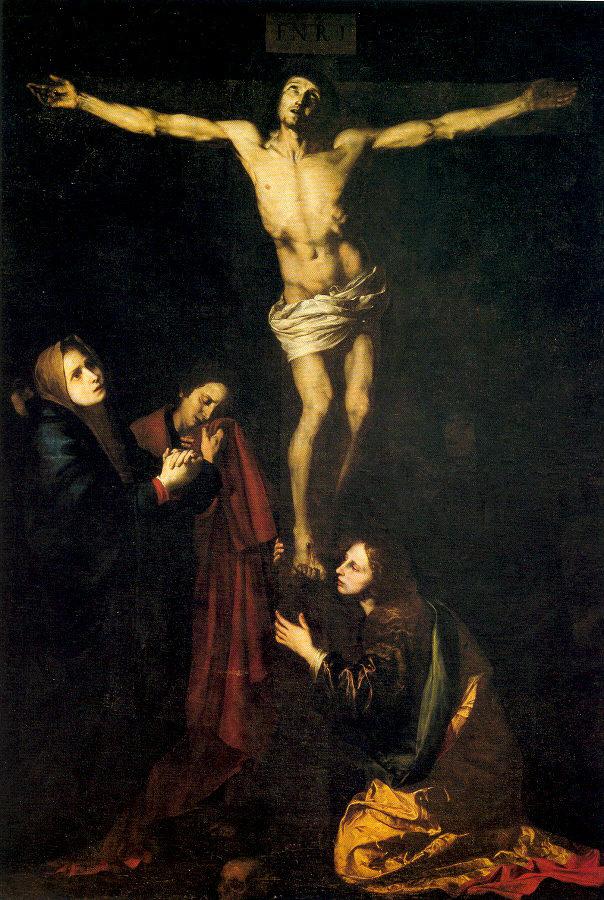 Хосе де Рибера. Распятие