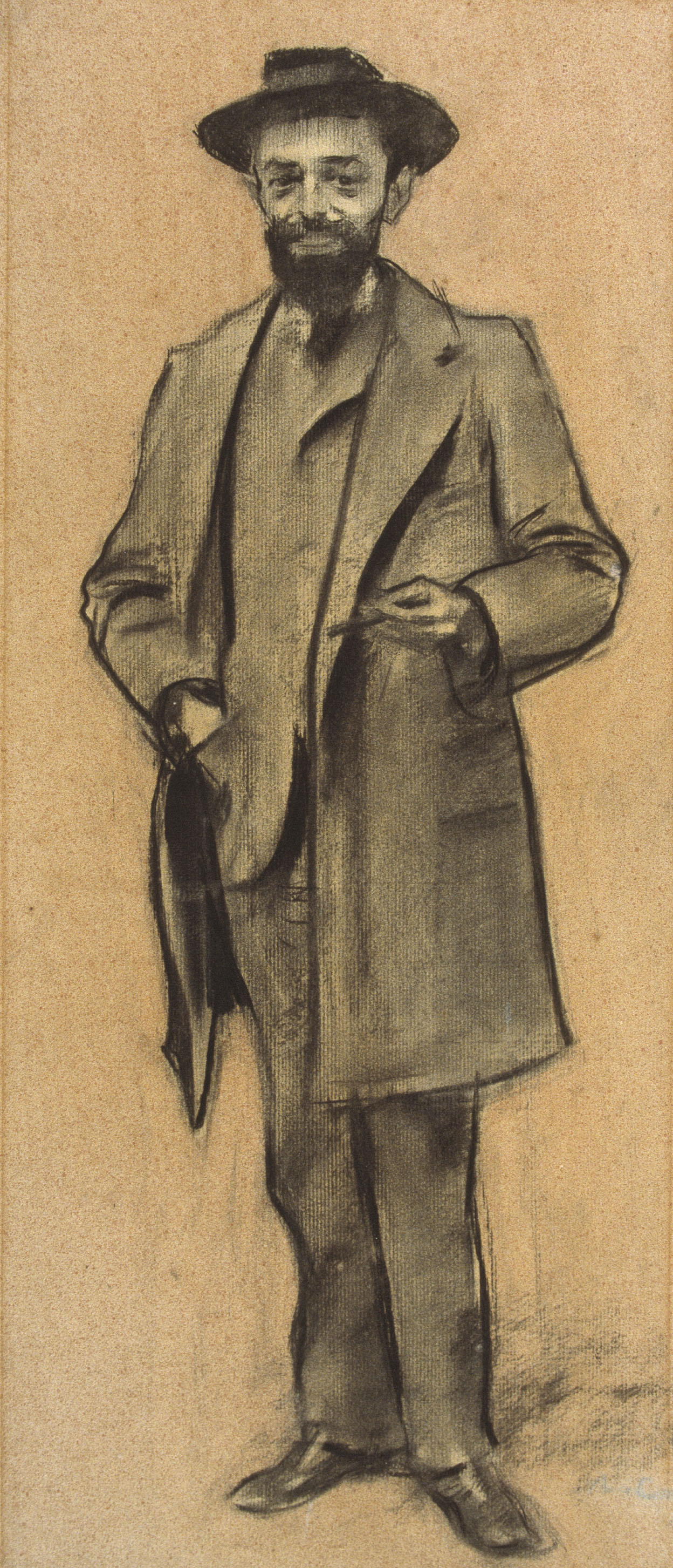 Ramon Casas i Carbó. Portrait of Enric de Fuentes