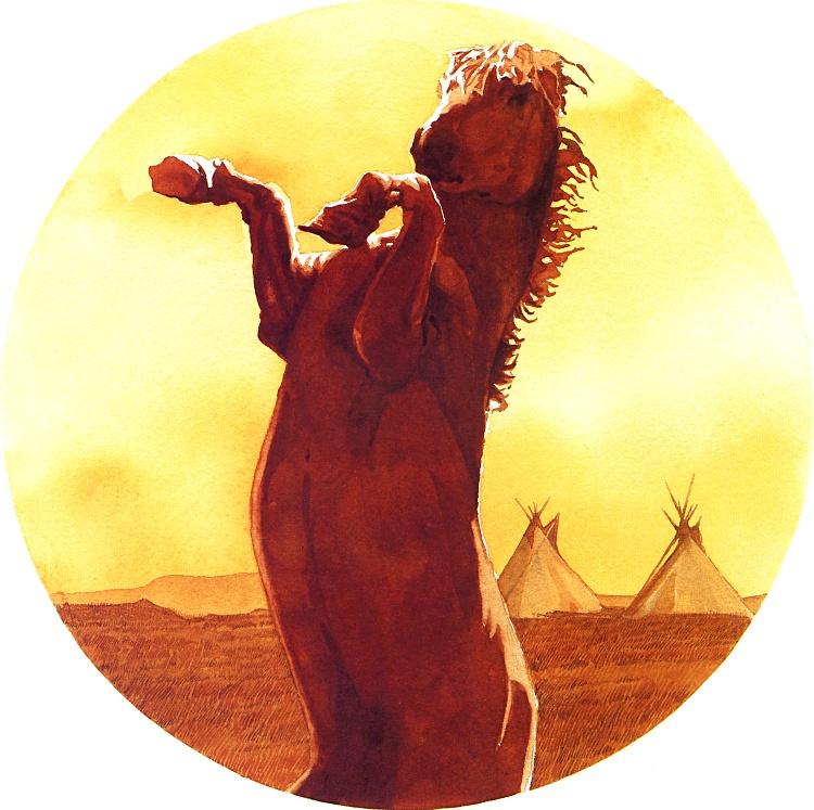 Барри Мозер. Лошадь