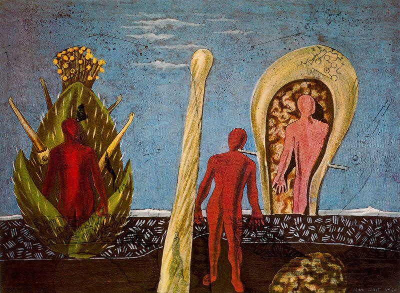 Max Ernst. Plot 73