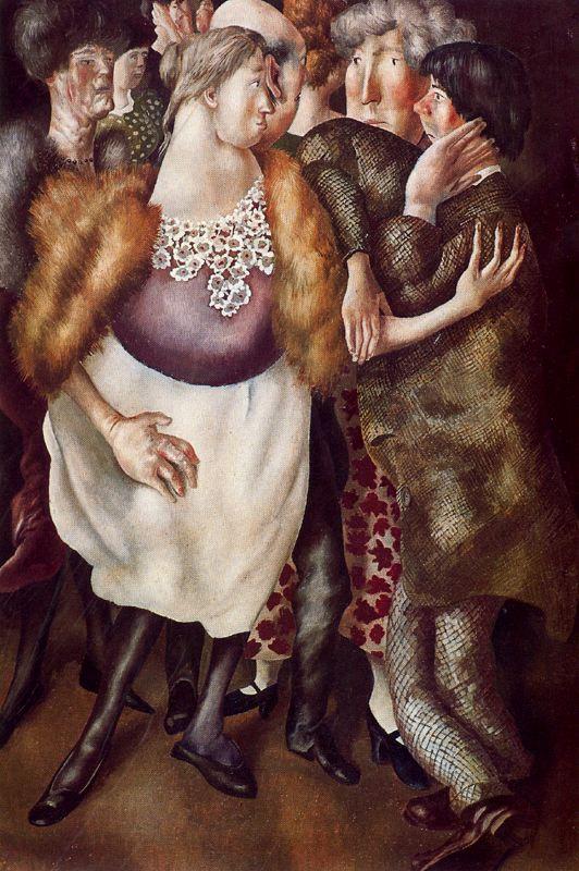 Stanley Spencer. Furs