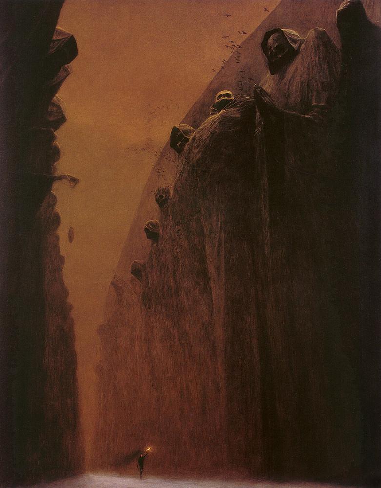 Zdzislaw Beksinsky. Untitled