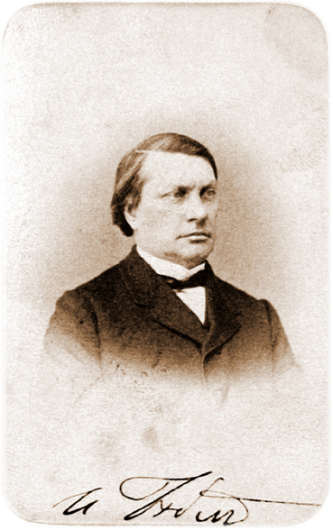 Алексей Петрович Боголюбов. Фотографический портрет Бабста