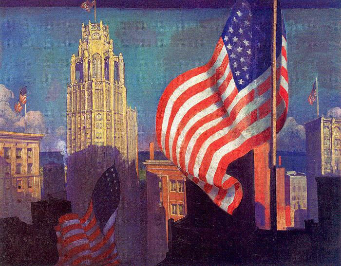 Джон Уорнер Нортон. Флаг Америки