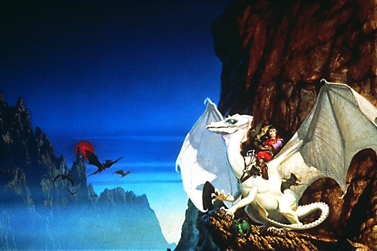 Майкл Уилан. Большой белый дракон