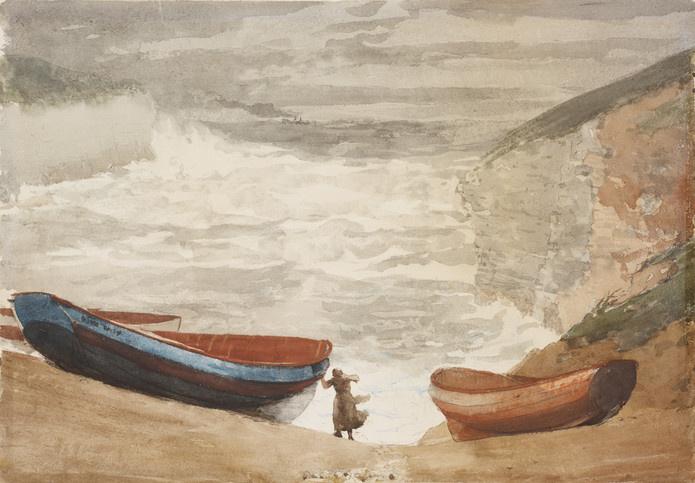 Winslow Homer. Coast Of England