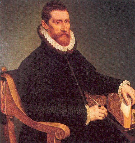 Франс Пурбус Младший. Портрет сидящего мужчины