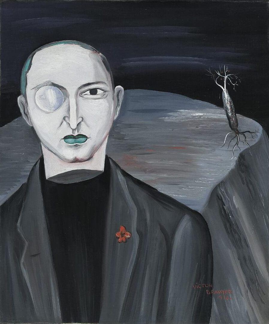 Victor Browner. Poet Claude Sernet (Ernest Alcohol, Mikhail Cosma, Nesty)