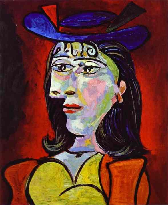 Пабло Пикассо. Портрет женщины (Дора Маар)