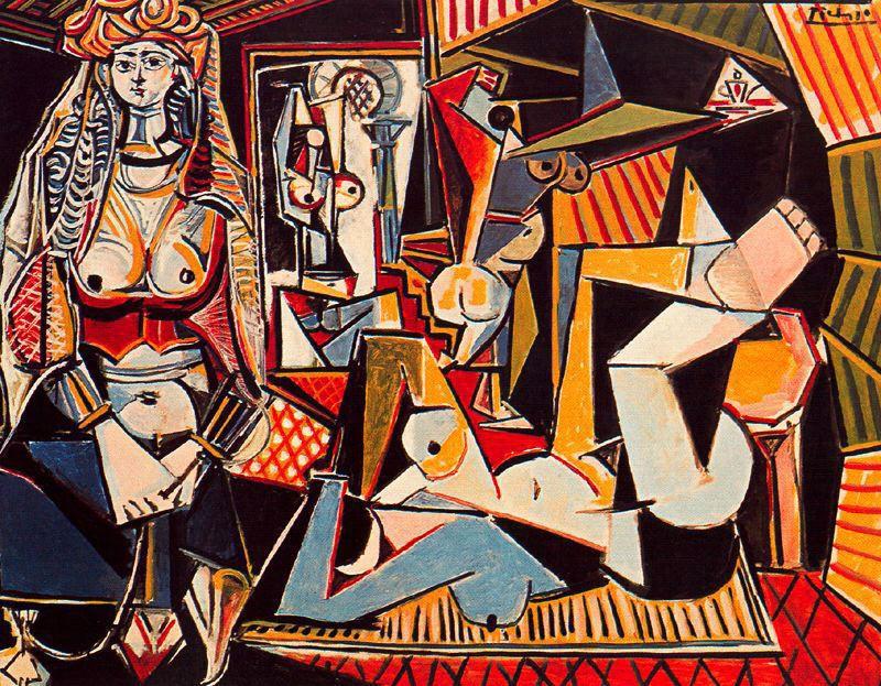 Пабло Пикассо. Обнаженные в комнате