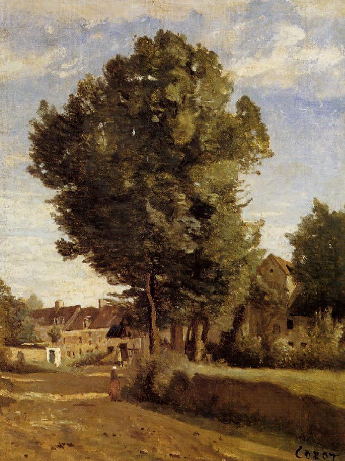 Камиль Коро. Деревня рядом