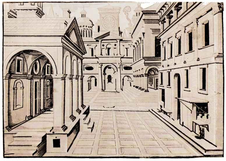 Ханс Вредеман де Врис. Идеальная ренессансная улица