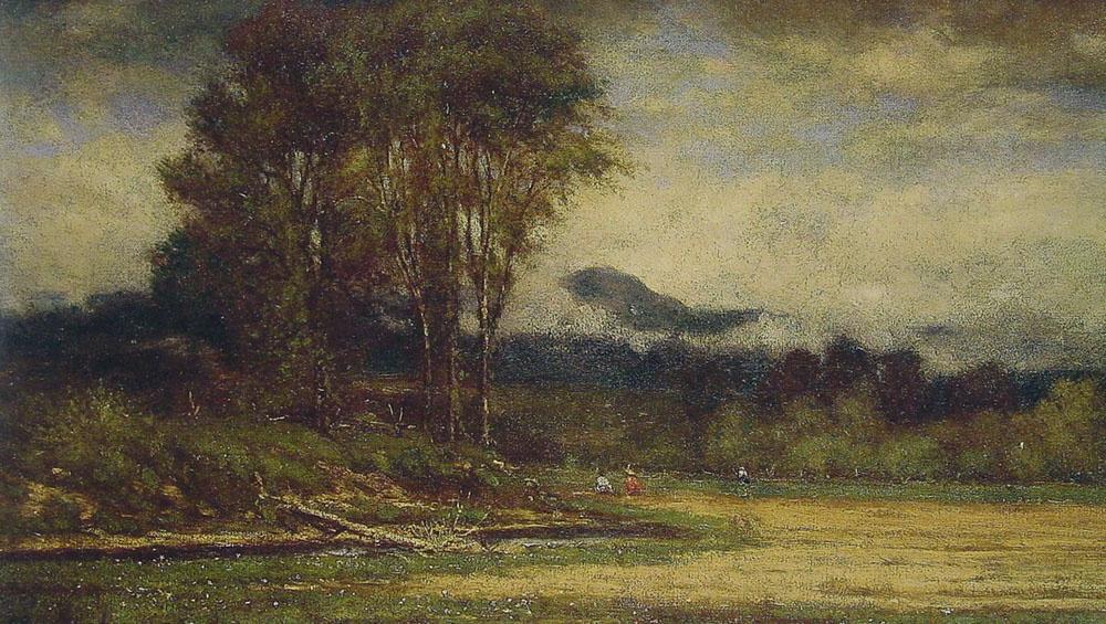 Джордж Иннесс. Пейзаж с прудом